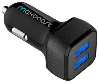 شارژر USB خودرو دو قاب تزریقی با لایه داخلی پلی کربونات دارد که با یک قالب منعطف ترموپلاست جفت شده است .