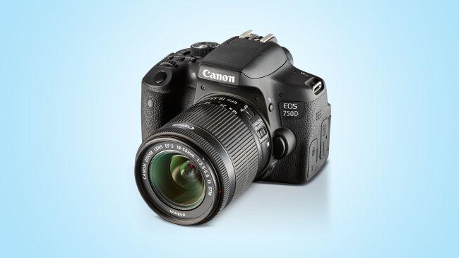دوربین دیجیتالی Canon EOS Rebel T6i / 750 D