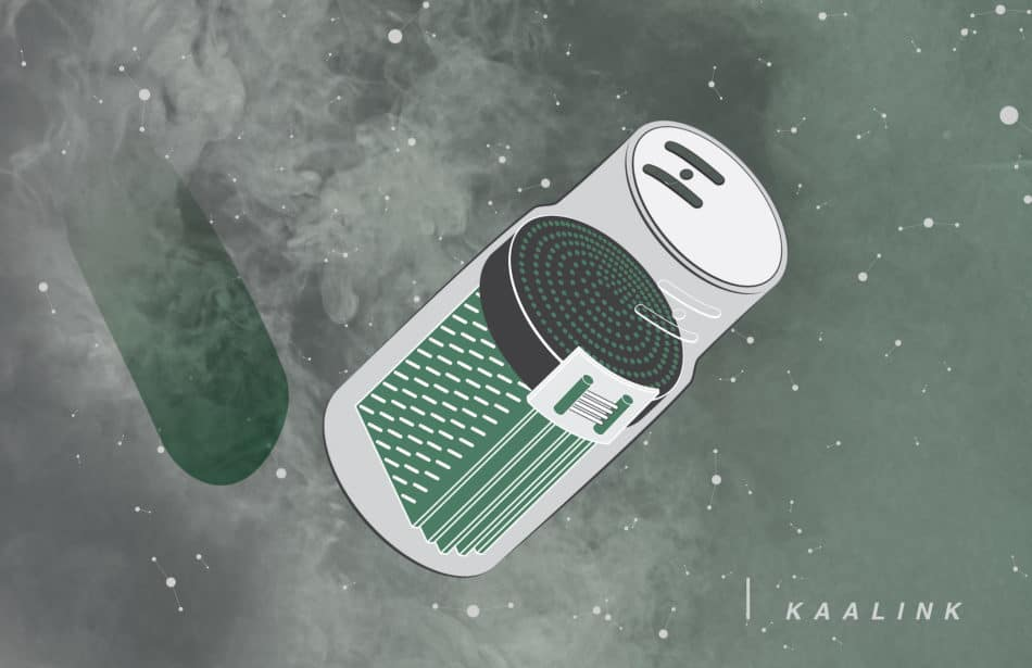 Kaalink، دستگاهی که دود خودرو را به جوهر تبدیل می کند