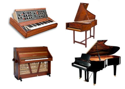 انتخاب یک ساز موسیقی- ساز های کلیدی یا شستی دار