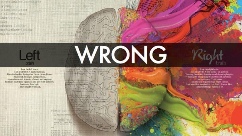راست دست یا چپ دست بودن ارتباطی با نیمکره های مغز ندارد