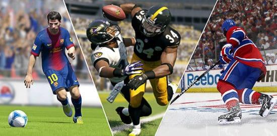 ورزش های دنیای واقعی را بازی کنید ؛ مثلا بیس بال ، بسکتبال ، فوتبال و دیگر ورزش ها