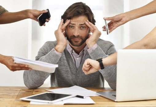 استرس و تنش زیاد شغلی