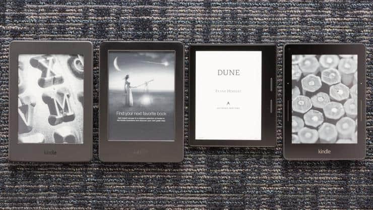 انواع کتاب خوان های الکترونیکی