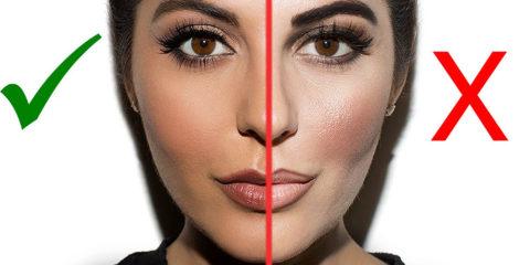 اشتباهات آرایشی رایج و راههای پیشگیری از آنها