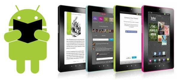 اپلیکیشن های کتاب خوان برای موبایل ها و تبلت های اندرویدی