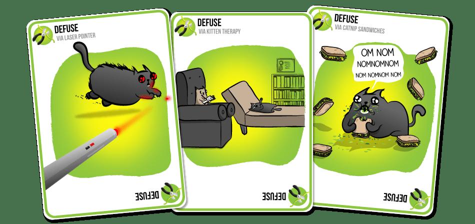 Exploding Kittens  یک بازی کارتی است