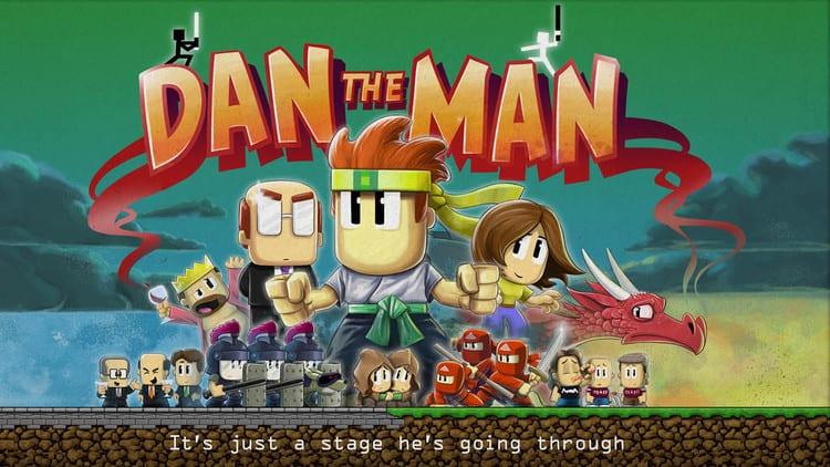 Dan The man  توسط استودیو Halfbrick ساخته شده .