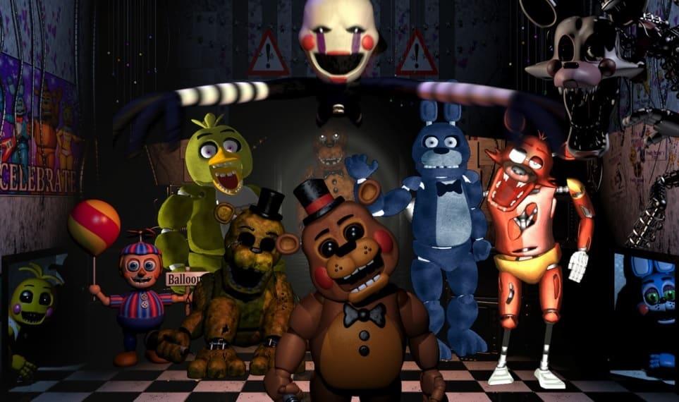Five Nights at Freddy's یکی از محبوب ترین بازی های پولی است