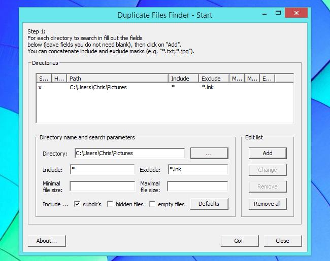 نرم افزار Duplicate File Finder برای حذف فایل های تکراری در ویندوز