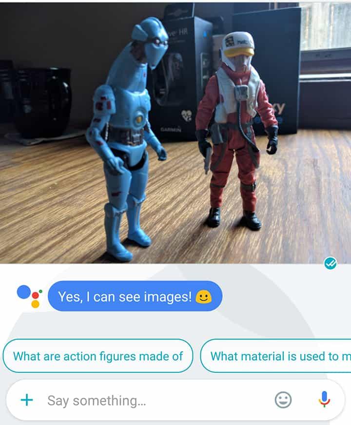دستیار گوگل تصاویر را هم شناسایی می کند