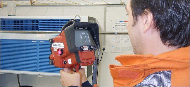 دوربین حرفه ای حرارتی برای تصویربرداری حرارتی