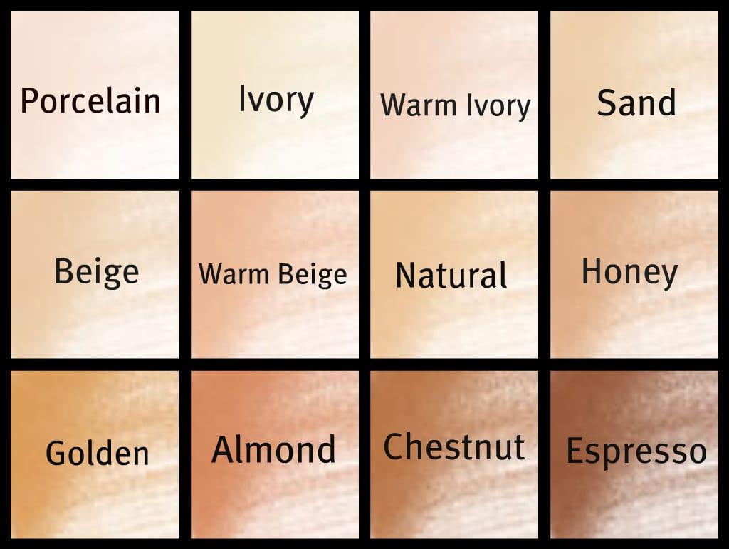 رنگ فونداسیون را بر اساس رنگ پوست انتخاب کنید