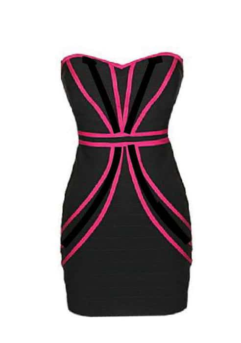 کاربرد خطوط منحنی به عنوان عناصر بصری پایه در طراحی لباس