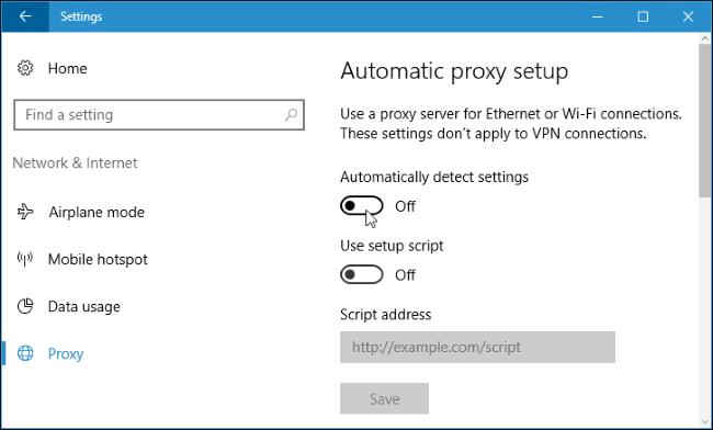 نحوه غیر فعال کردن WPAD در ویندوز 8 و 10