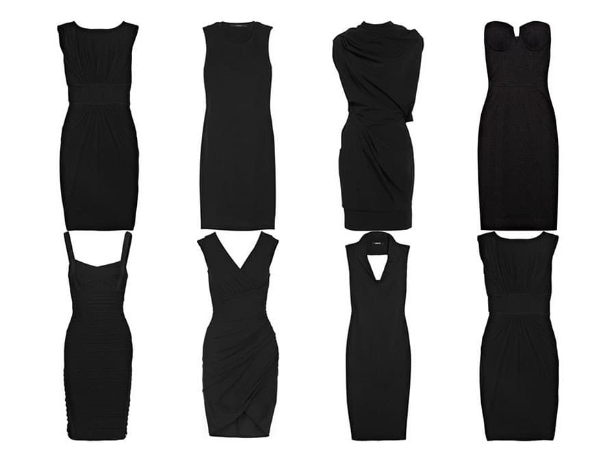 لباس مشکی مجلسی انواع مختلف دارد