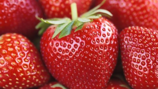 توت فرنگی یکی از مواد غذایی مفید