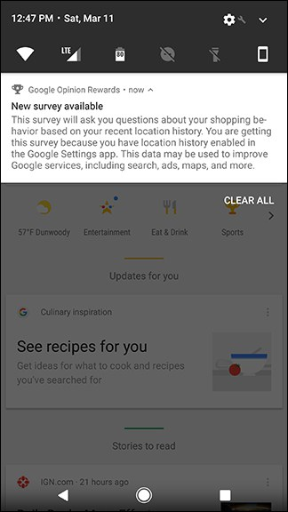 درامد گوگل