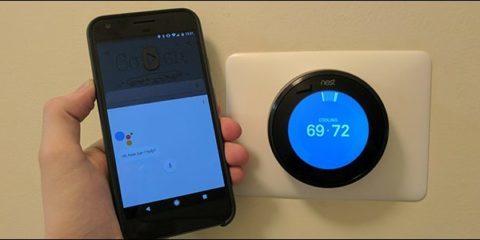 کنترل دستگاه های خانه هوشمند از طریق دستیار گوگل