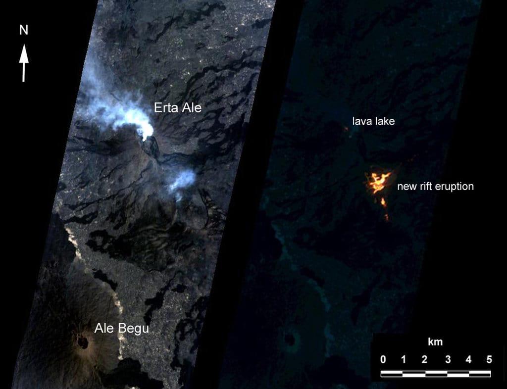 استفادهی ناسا از نرم افزار هوش مصنوعی برای تشخیص و ثبت تصاویر فوران های آتشفشانها
