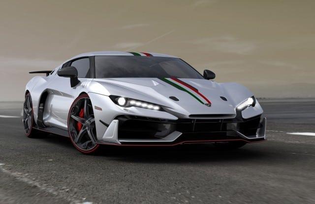 شرکت طراحی ایتالیایی italdesign یک خودروی ویژه برای مجموعه دارها با تعدا محدود طراحی کرده