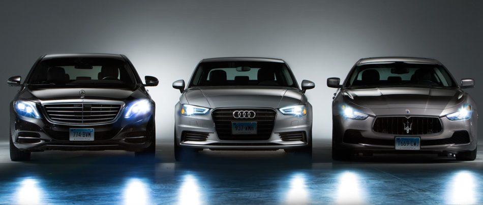 چراغ های اتومبیل همچون دیگر زمینه ها با سرعتی سرسام آور در حال پیشرفت است .