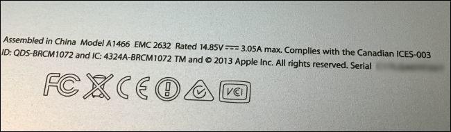نحوه یافتن شماره سریال مک درصورتی که دستگاهتان روشن نمیشود