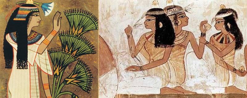 تاریخچه استفاده از عطر در مصر باستان