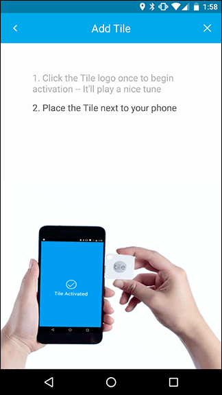 نحوه راه اندازی تایل ترکر (Tile)