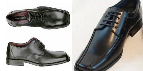 تفاوتهای کفشهای پنجه گرد و کفشهای پنجه مربعی مردانه