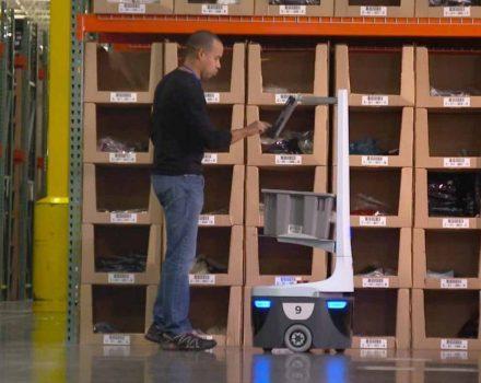 استفاده از ربات ها در فعالیت های لجستیکی مدیریت و انبارداری