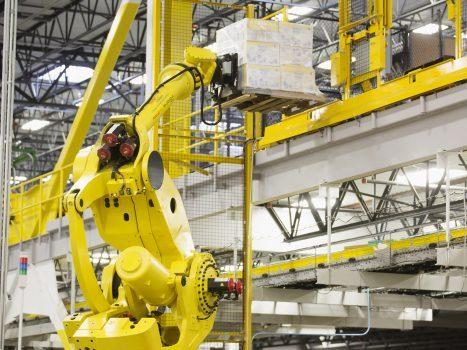 ربات ها در مدیریت انبار