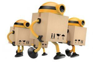 ربات ها در انبارداری