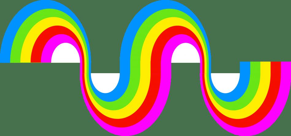 نوشتن با روش رنگین کمانی