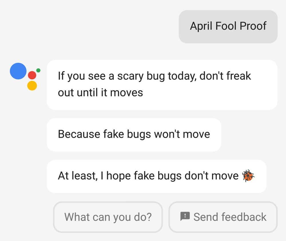 شوخی های اول آپریل گوگل
