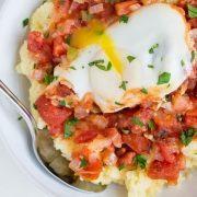 طرز تهیه تخم مرغ مدیترانه ای برای 4 نفر