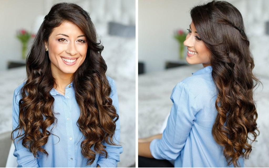 پس ار فرکردن مو از اسپری استفاده کنید