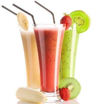 مواد غذایی سالم آب میوه های سرد فشرده