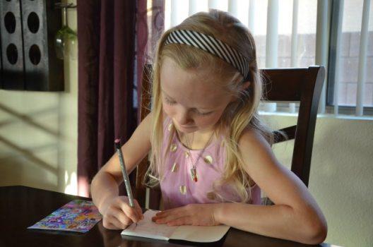 مهارت نوشتن در فرزند