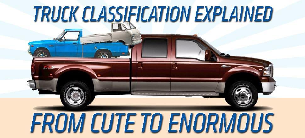 پیکاپ های مدرن ؛ تمام چیز هایی که باید در مورد اندازه ها و طبقه بندی کامیون ها بدانید