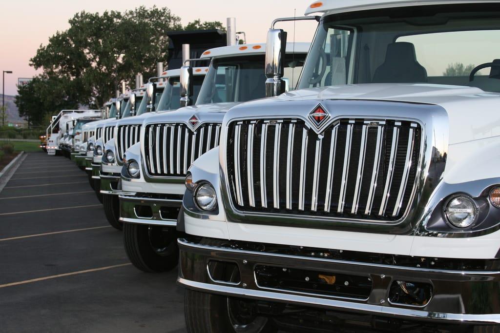 کامیون های سنگین