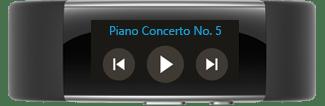 کنترل موسیقی با مایکروسافت بند ۲