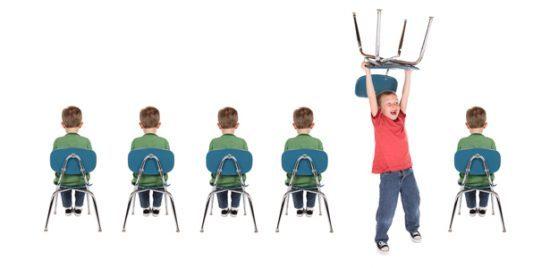 تفاوت های بین دختران و پسران بیش فعال