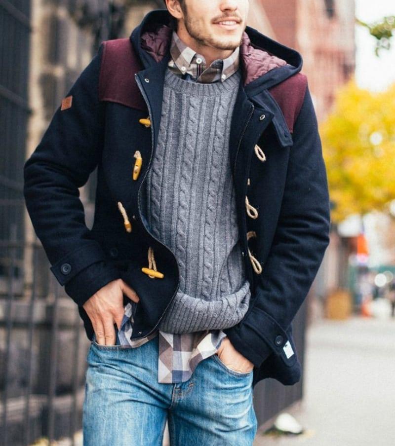 روی هم پوشیدن لباسهای مردانه