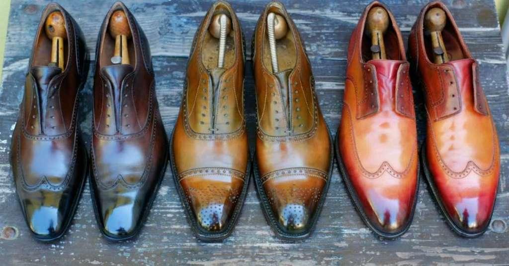 انواع کفش نیمه رسمی مردانه