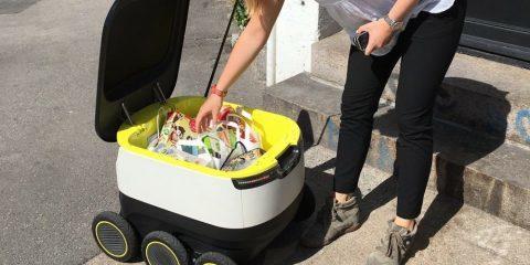 ربات های تحویل سفارشات آنلاین
