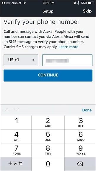 نحوهی راه اندازی سرویس تماس صوتی و ارسال پیام از طریق آمازون اکو در اپلیکیشن الکسا