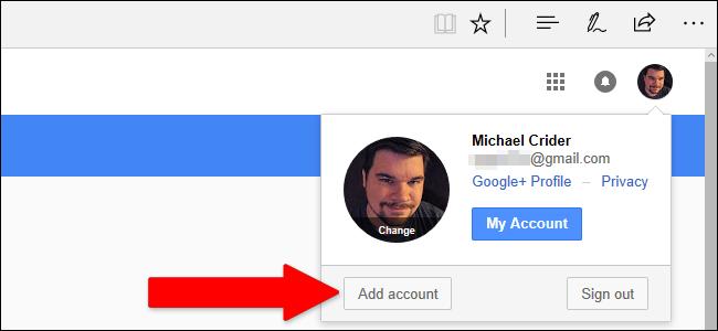 نحوهی ورود به چند حساب کاربری گوگل