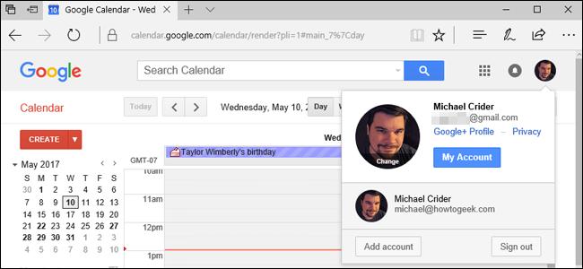 نحوهی دسترسی به خدمات گوگل از طریق حساب کاربری دوم