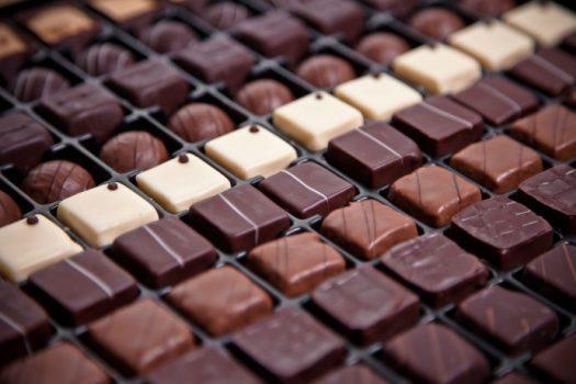 کاهش اندازه شکلات